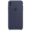 APPLE-XSMAX-MRWG2ZZMA - Coque officielle Apple iPhone Xs Max silicone Midnight blue MRWG2ZZMA