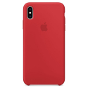APPLE-XSMAX-MRWH2ZMA - Coque officielle Apple iPhone Xs Max silicone rouge MRWH2ZM/A