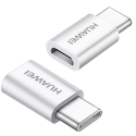 HUAWEI-AP52 - Adaptateur MicroUSB vers USB-C Huawei charge et synchronisation
